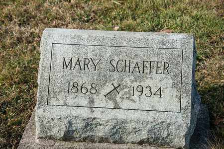 SCHAFFER, MARY - Richland County, Ohio | MARY SCHAFFER - Ohio Gravestone Photos