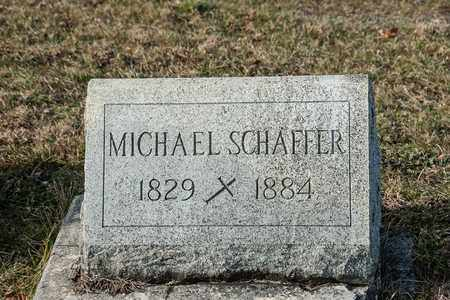 SCHAFFER, MICHAEL - Richland County, Ohio | MICHAEL SCHAFFER - Ohio Gravestone Photos