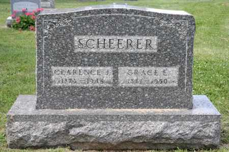 SCHEERER, GRACE E - Richland County, Ohio | GRACE E SCHEERER - Ohio Gravestone Photos