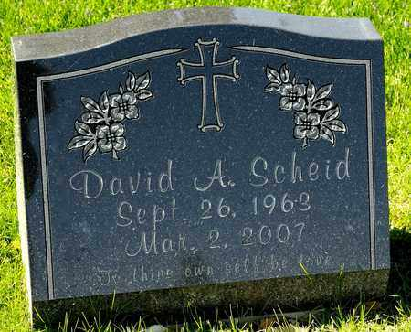 SCHEID, DAVID A - Richland County, Ohio | DAVID A SCHEID - Ohio Gravestone Photos