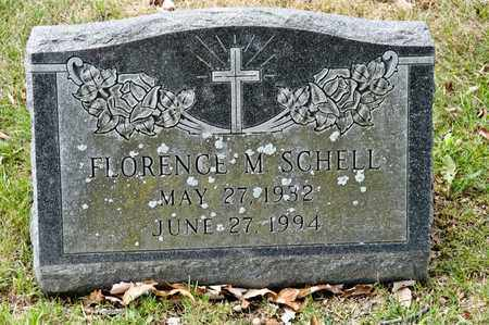 SCHELL, FLORENCE M - Richland County, Ohio | FLORENCE M SCHELL - Ohio Gravestone Photos