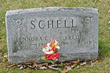 SCHELL, FRED L - Richland County, Ohio | FRED L SCHELL - Ohio Gravestone Photos