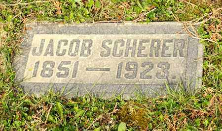 SCHERER, JACOB - Richland County, Ohio | JACOB SCHERER - Ohio Gravestone Photos