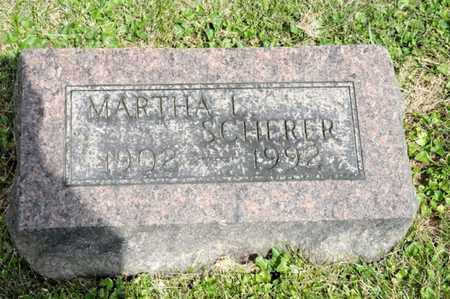 SCHERER, MARTHA L - Richland County, Ohio | MARTHA L SCHERER - Ohio Gravestone Photos