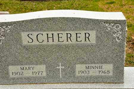 SCHERER, MINNIE - Richland County, Ohio | MINNIE SCHERER - Ohio Gravestone Photos