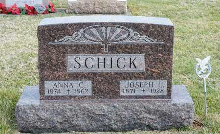 SCHICK, JOSEPH L - Richland County, Ohio | JOSEPH L SCHICK - Ohio Gravestone Photos