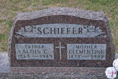 SCHIFFER, ALOIS C - Richland County, Ohio | ALOIS C SCHIFFER - Ohio Gravestone Photos