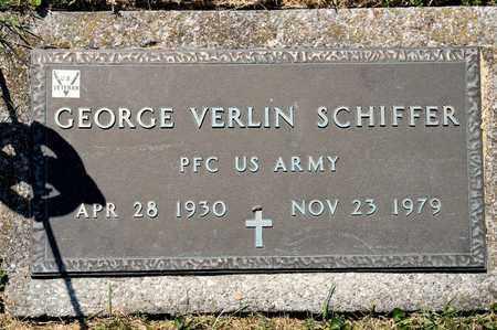 SCHIFFER, GEORGE VERLIN - Richland County, Ohio | GEORGE VERLIN SCHIFFER - Ohio Gravestone Photos
