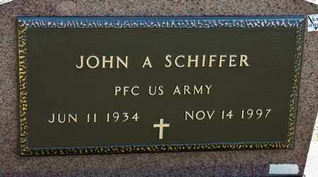 SCHIFFER, JOHN A - Richland County, Ohio | JOHN A SCHIFFER - Ohio Gravestone Photos
