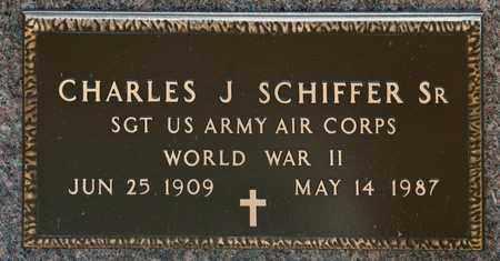 SCHIFFER SR, CHARLES J - Richland County, Ohio | CHARLES J SCHIFFER SR - Ohio Gravestone Photos