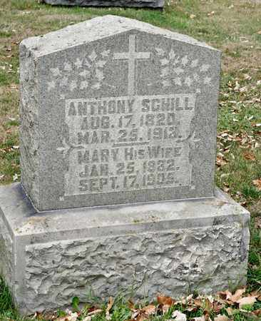 SCHILL, ANTHONY - Richland County, Ohio | ANTHONY SCHILL - Ohio Gravestone Photos