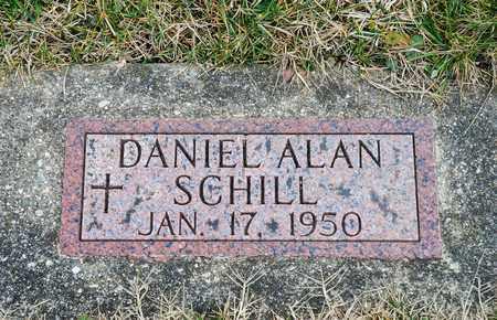 SCHILL, DANIEL ALAN - Richland County, Ohio | DANIEL ALAN SCHILL - Ohio Gravestone Photos