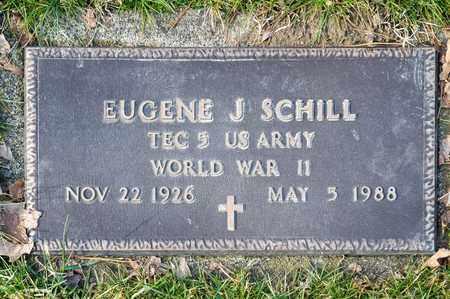 SCHILL, EUGENE J - Richland County, Ohio | EUGENE J SCHILL - Ohio Gravestone Photos