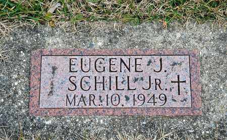 SCHILL JR, EUGENE J - Richland County, Ohio | EUGENE J SCHILL JR - Ohio Gravestone Photos