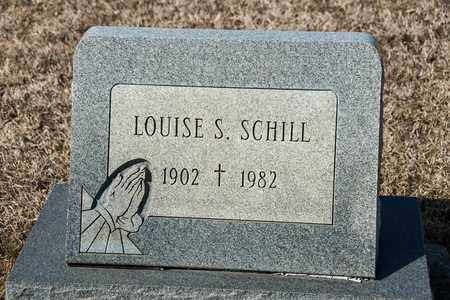 SCHILL, LOUISE S - Richland County, Ohio | LOUISE S SCHILL - Ohio Gravestone Photos