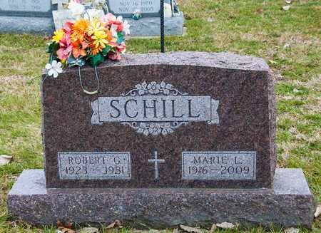 SCHILL, ROBERT G - Richland County, Ohio | ROBERT G SCHILL - Ohio Gravestone Photos