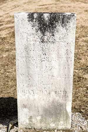 SCHLASMAN, SARAH - Richland County, Ohio | SARAH SCHLASMAN - Ohio Gravestone Photos