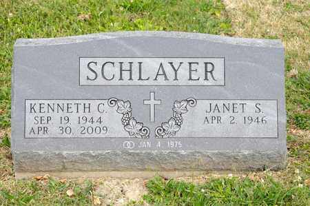 SCHLAYER, KENNETH C - Richland County, Ohio | KENNETH C SCHLAYER - Ohio Gravestone Photos