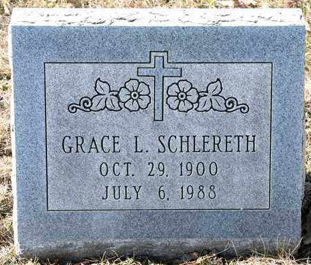 SCHLERETH, GRACE L - Richland County, Ohio | GRACE L SCHLERETH - Ohio Gravestone Photos