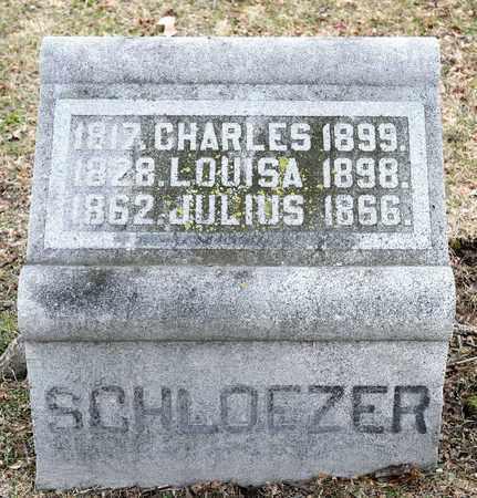 SCHLOEZER, LOUISA - Richland County, Ohio | LOUISA SCHLOEZER - Ohio Gravestone Photos
