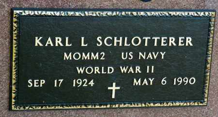 SCHLOTTERER, KARL LEO - Richland County, Ohio | KARL LEO SCHLOTTERER - Ohio Gravestone Photos