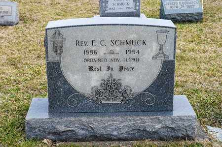 SCHMUCK, F C - Richland County, Ohio | F C SCHMUCK - Ohio Gravestone Photos