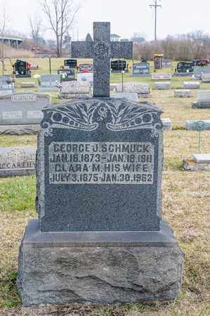 SCHMUCK, CLARA M - Richland County, Ohio | CLARA M SCHMUCK - Ohio Gravestone Photos