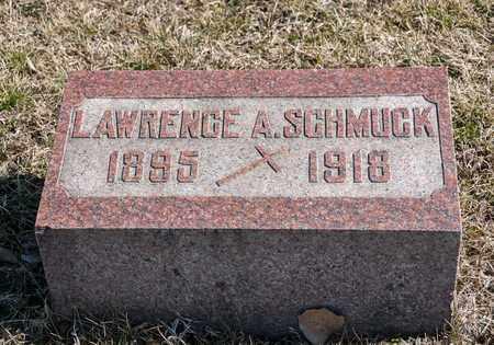 SCHMUCK, LAWRENCE A - Richland County, Ohio | LAWRENCE A SCHMUCK - Ohio Gravestone Photos