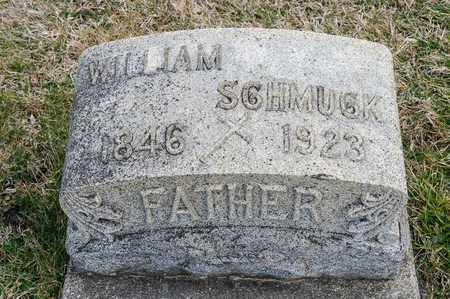 SCHMUCK, WILLIAM - Richland County, Ohio | WILLIAM SCHMUCK - Ohio Gravestone Photos
