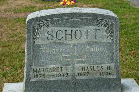 SCHOTT, MARGARET T - Richland County, Ohio | MARGARET T SCHOTT - Ohio Gravestone Photos