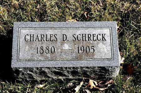SCHRECK, CHARLES D - Richland County, Ohio | CHARLES D SCHRECK - Ohio Gravestone Photos