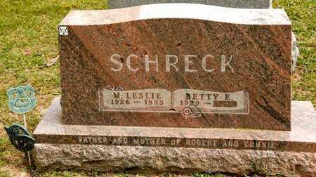 SCHRECK, M LESLIE - Richland County, Ohio | M LESLIE SCHRECK - Ohio Gravestone Photos