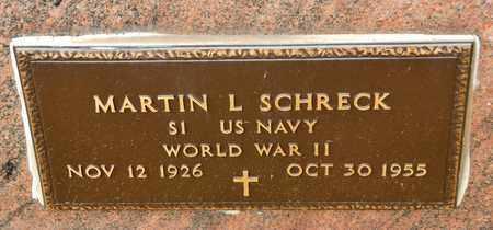 SCHRECK, MARTIN L - Richland County, Ohio | MARTIN L SCHRECK - Ohio Gravestone Photos