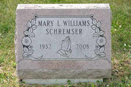 WILLIAMS SCHREMSER, MARY L - Richland County, Ohio | MARY L WILLIAMS SCHREMSER - Ohio Gravestone Photos