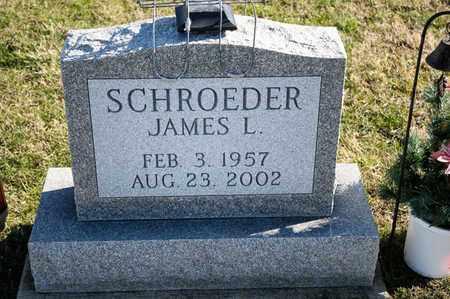 SCHROEDER, JAMES L - Richland County, Ohio | JAMES L SCHROEDER - Ohio Gravestone Photos
