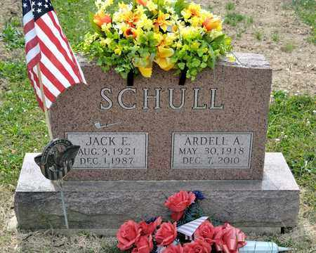 SCHULL, JACK E - Richland County, Ohio | JACK E SCHULL - Ohio Gravestone Photos