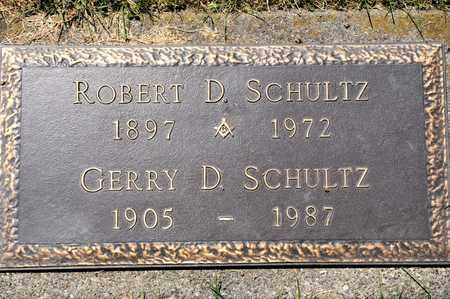 SCHULTZ, ROBERT D - Richland County, Ohio | ROBERT D SCHULTZ - Ohio Gravestone Photos