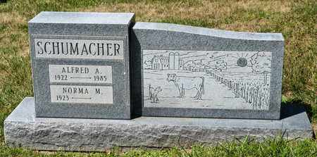 SCHUMACHER, ALFRED A - Richland County, Ohio | ALFRED A SCHUMACHER - Ohio Gravestone Photos