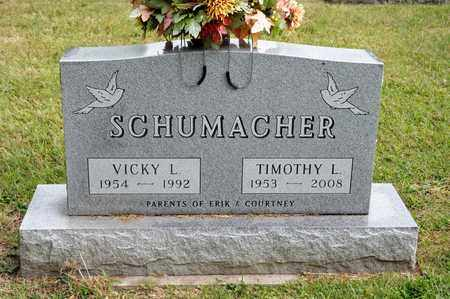 SCHUMACHER, VICKY L - Richland County, Ohio | VICKY L SCHUMACHER - Ohio Gravestone Photos