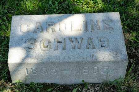 SCHWAB, CAROLINE - Richland County, Ohio | CAROLINE SCHWAB - Ohio Gravestone Photos