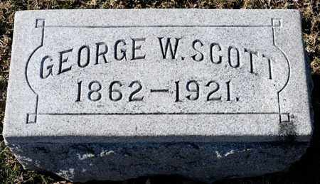 SCOTT, GEORGE W - Richland County, Ohio | GEORGE W SCOTT - Ohio Gravestone Photos