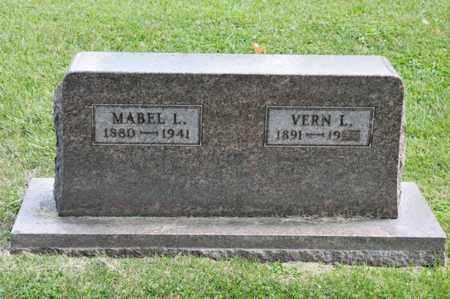 SCOTT, MABEL L - Richland County, Ohio | MABEL L SCOTT - Ohio Gravestone Photos