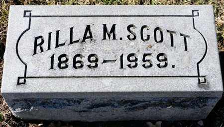 SCOTT, RILLA M - Richland County, Ohio | RILLA M SCOTT - Ohio Gravestone Photos