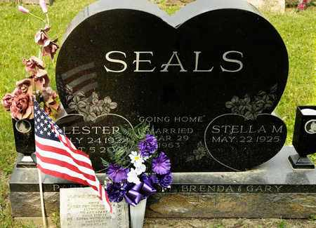 SEALS, LESTER - Richland County, Ohio | LESTER SEALS - Ohio Gravestone Photos