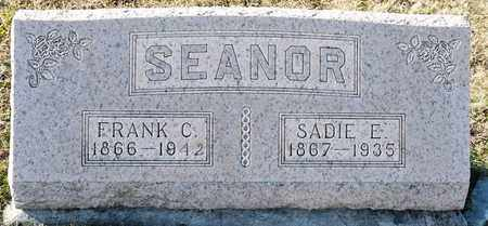 SEANOR, FRANK C - Richland County, Ohio | FRANK C SEANOR - Ohio Gravestone Photos