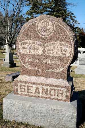 MCWHERTER SEANOR, ALGIRA ELLEN - Richland County, Ohio | ALGIRA ELLEN MCWHERTER SEANOR - Ohio Gravestone Photos