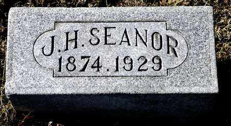 SEANOR, J H - Richland County, Ohio | J H SEANOR - Ohio Gravestone Photos