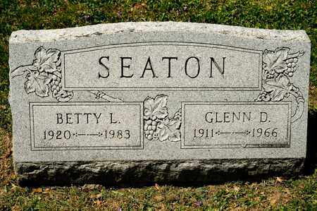 SEATON, GLENN D - Richland County, Ohio | GLENN D SEATON - Ohio Gravestone Photos