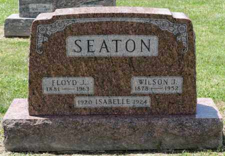 SEATON, ISABELLE - Richland County, Ohio | ISABELLE SEATON - Ohio Gravestone Photos