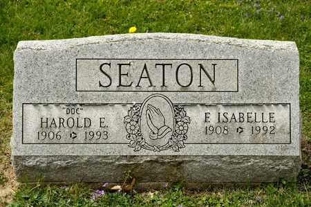 SEATON, E ISABELLE - Richland County, Ohio | E ISABELLE SEATON - Ohio Gravestone Photos